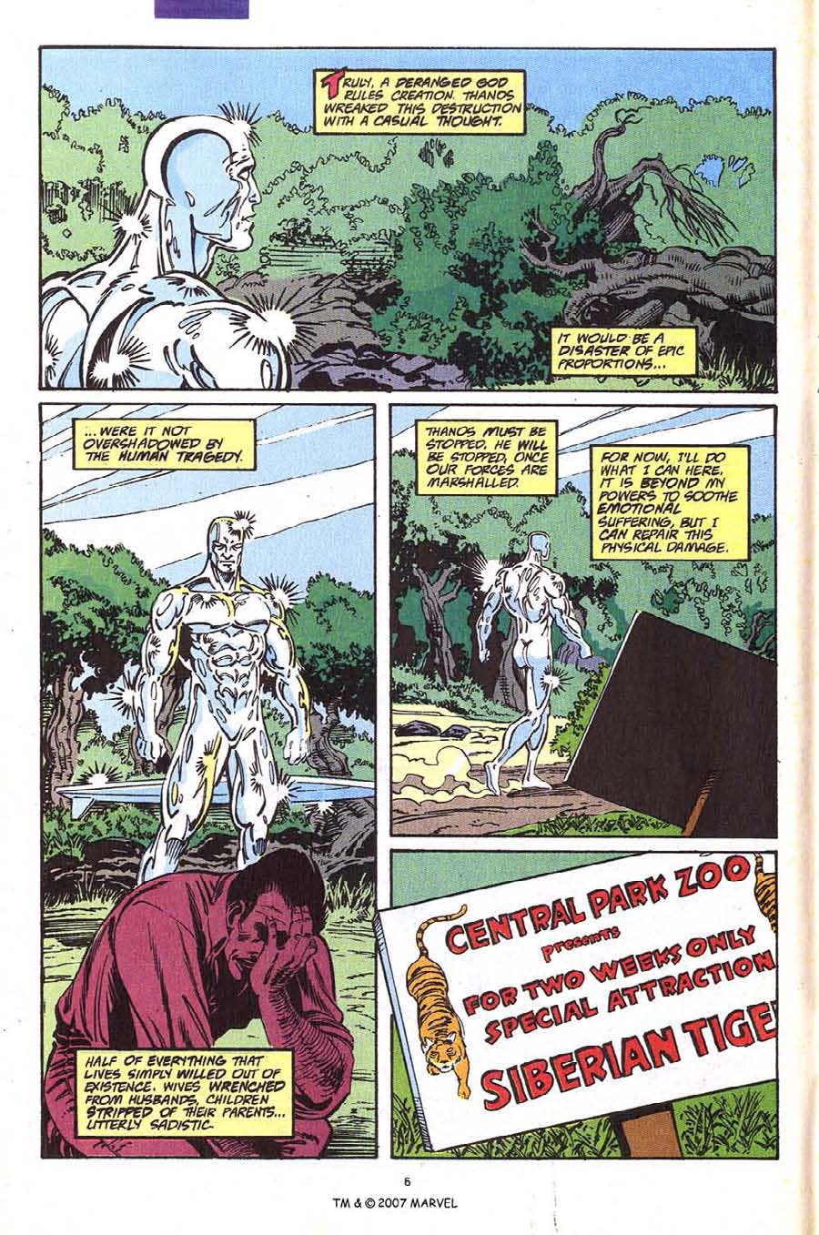 Read online Silver Surfer (1987) comic -  Issue #54 - 8