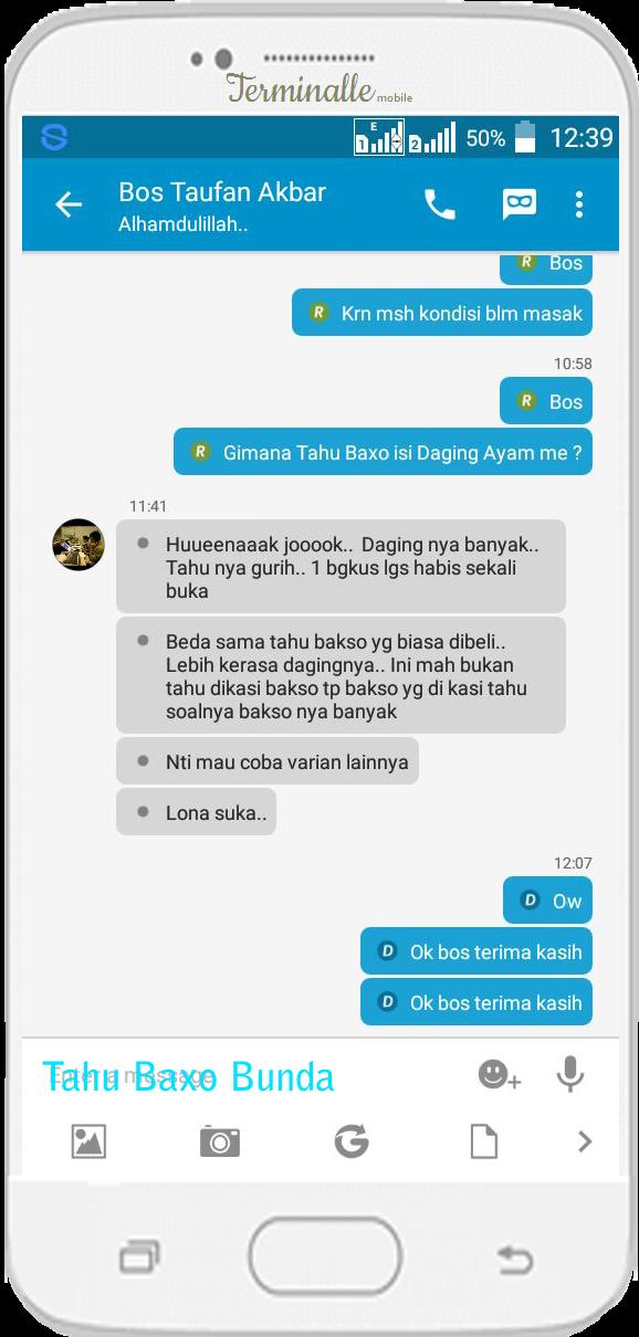 Oleh Bp Taufan - Kalimantan Timur @TahuBaxoBunda