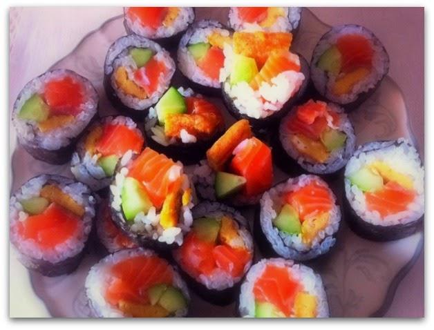Beneficios de comer sushi