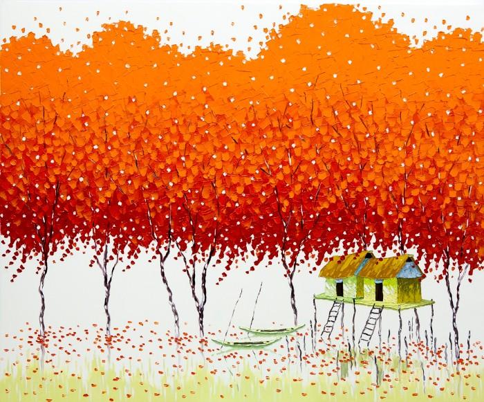 Современные вьетнамские художники. Phan Thu Trang 17