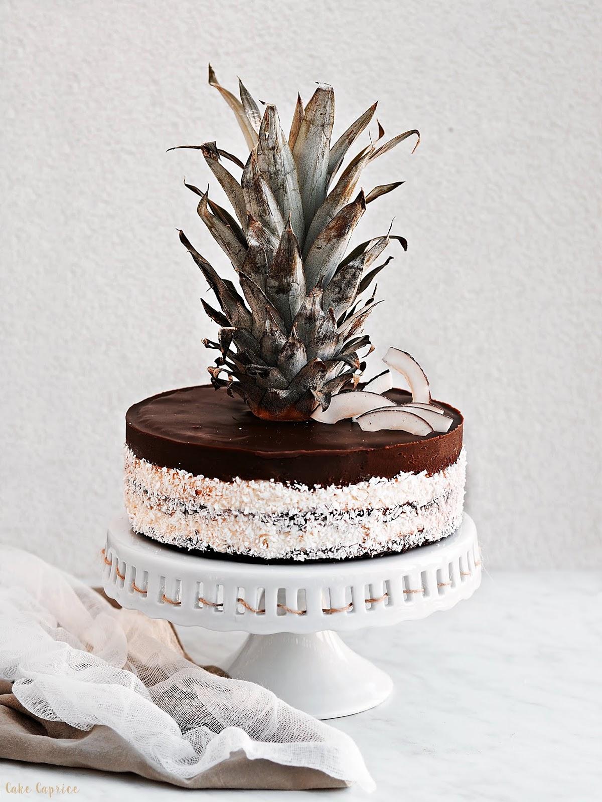 ciasto koosowo-ananasowe