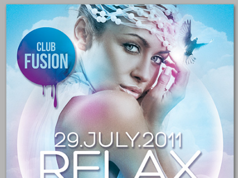 Download Elegant Relax Flyer PSD Free
