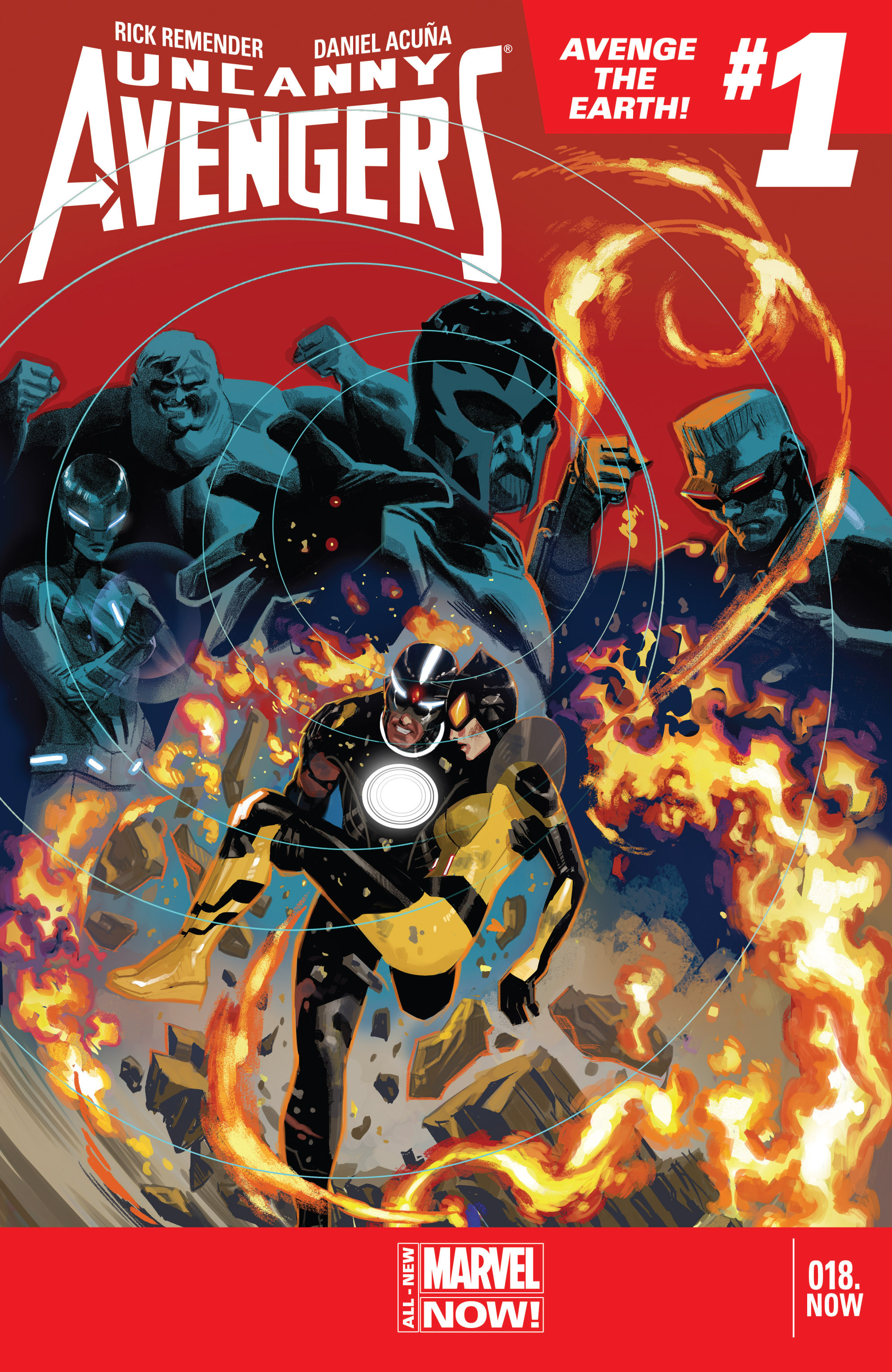 Read online Uncanny Avengers (2012) comic -  Issue #18 - 1