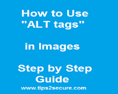 image optimization using alt tags in blog and website