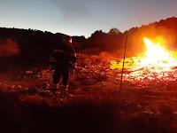 požar Vejak Novo Selo slike otok Brač Online