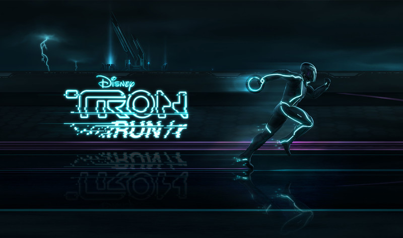 TRON RUN/r Download Poster