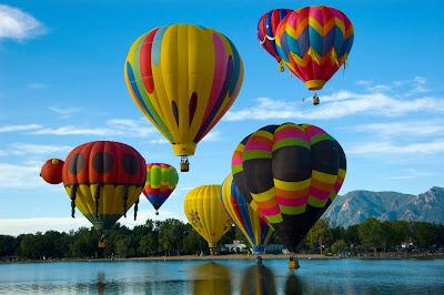 Curiosidades, cómo vuelan los globos