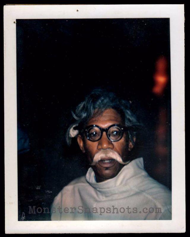 amazing polaroids of morgan freeman during the filming of