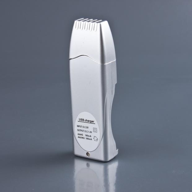 Kedai Pja: Pengecas USB Charger AAA & AA Bateri 2 dalam 1