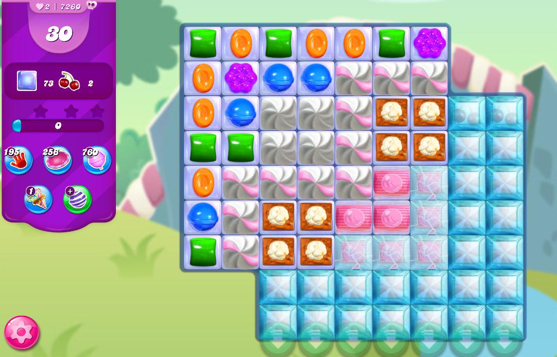 Candy Crush Saga level 7260