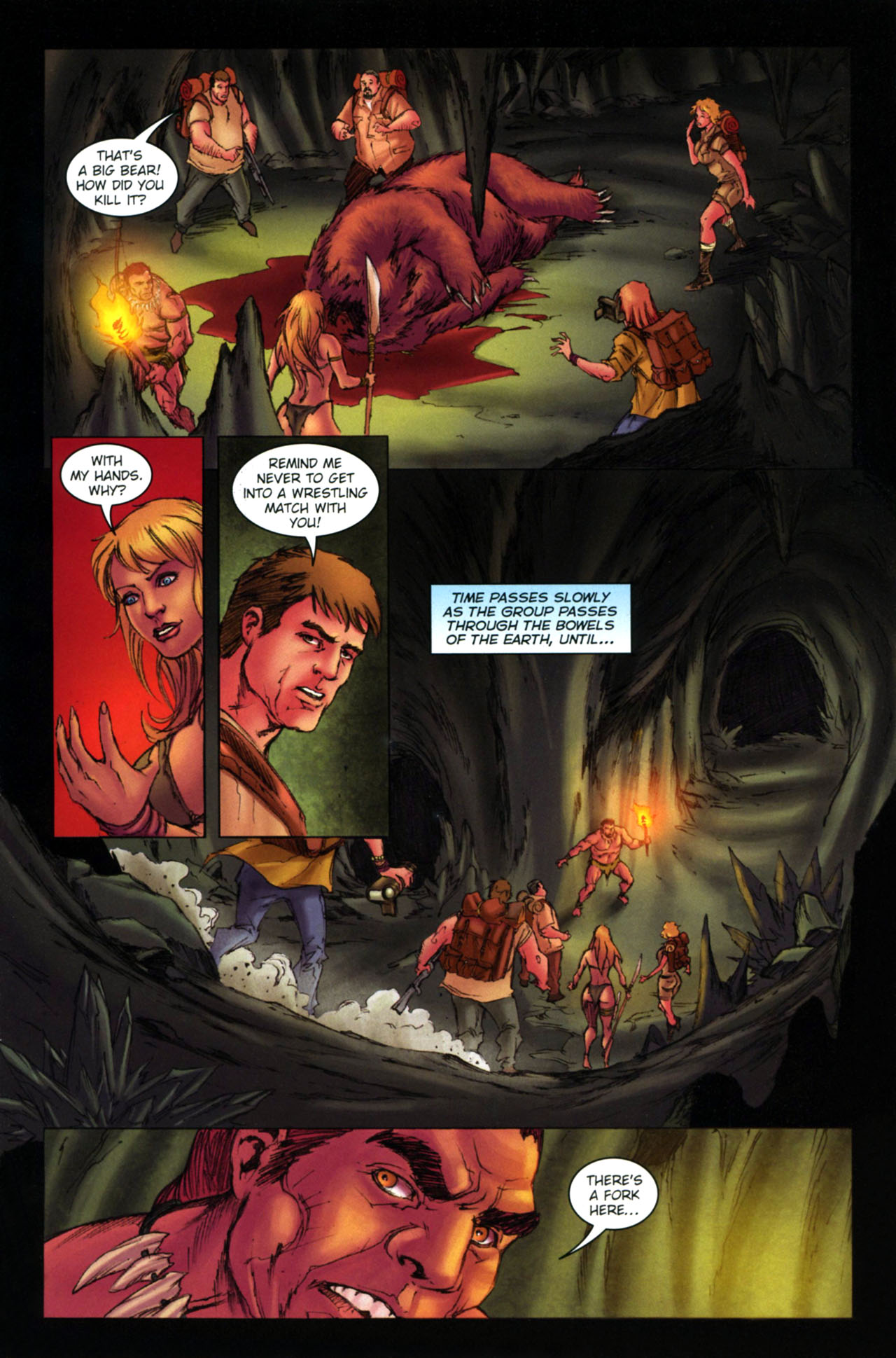 Read online Jungle Girl comic -  Issue #4 - 16