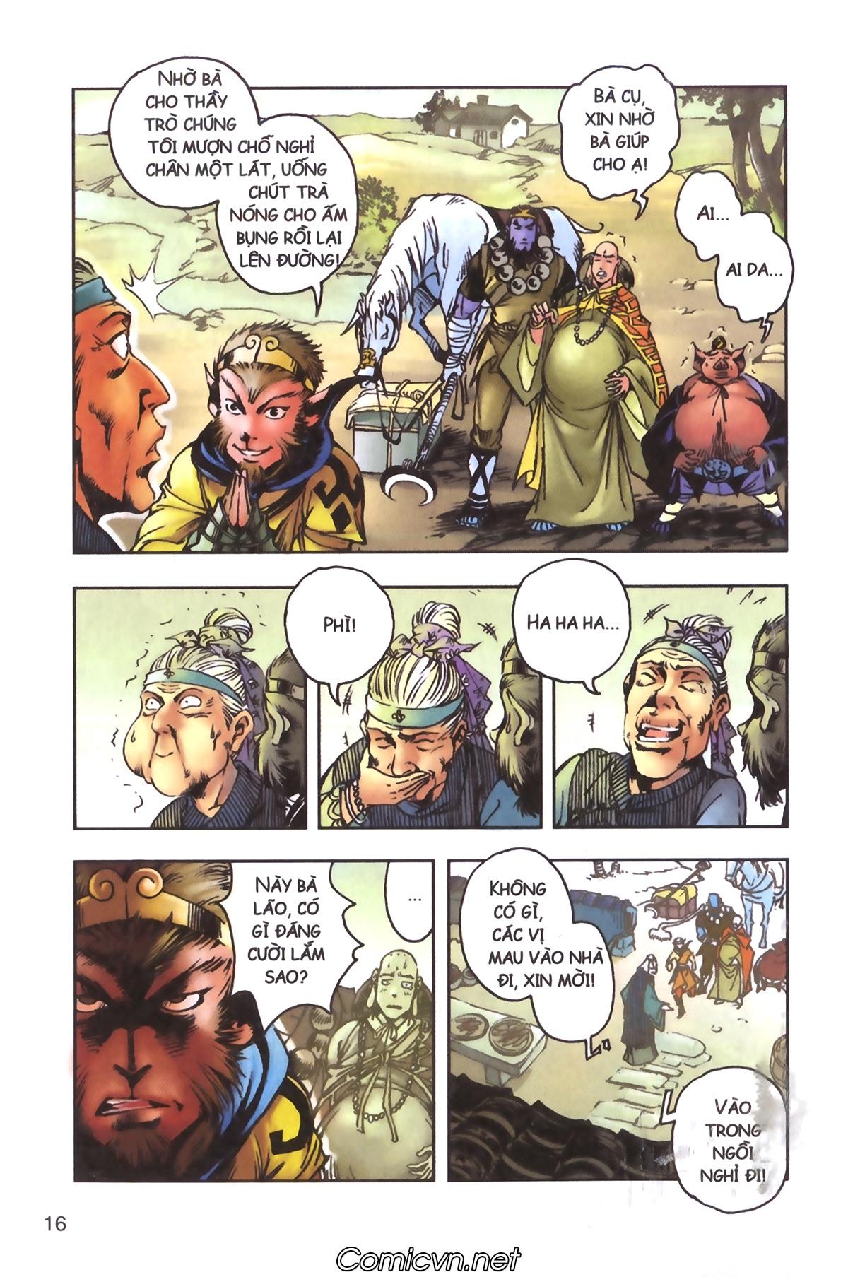 Tây Du Ký màu - Chapter 96 - Pic 14