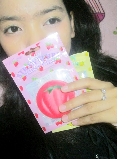 Review Pure Smile Juicy Point Pads - Strawberry and Lemon
