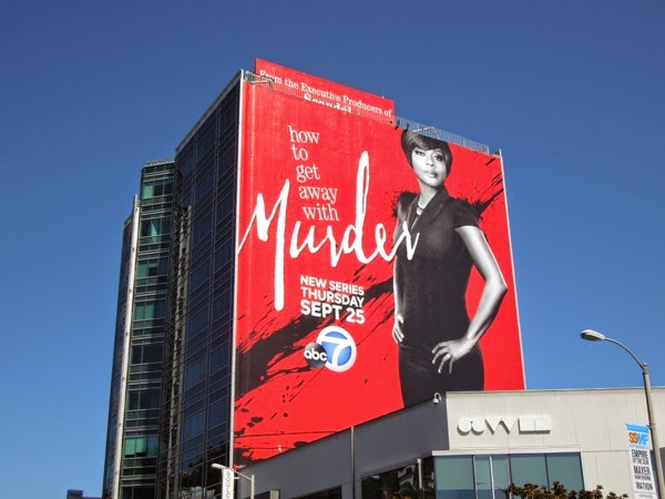How to Get Away With Murder series premiere billboard