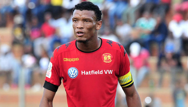 Highlands Park striker Mothobi Mvala