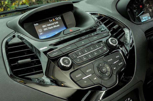 Interior Ford Ka+