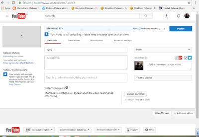 Cara Pause Upload Video Di Youtube Always Try And Learn Something New