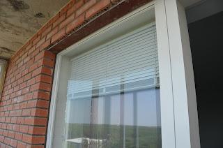 Окна из Финляндии с жалюзи
