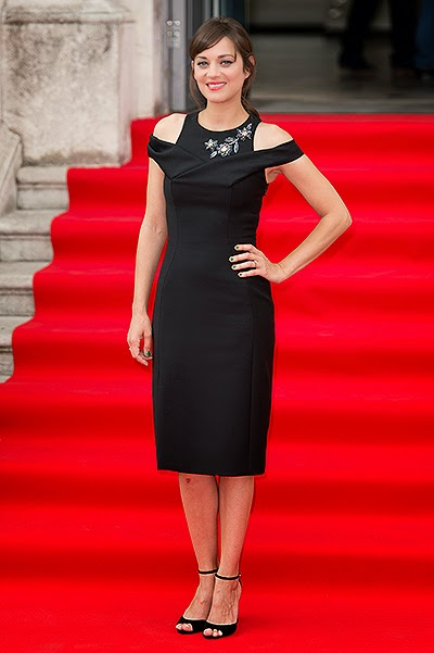 Marion Cotillard at the premiere of the film Two days, one night in London