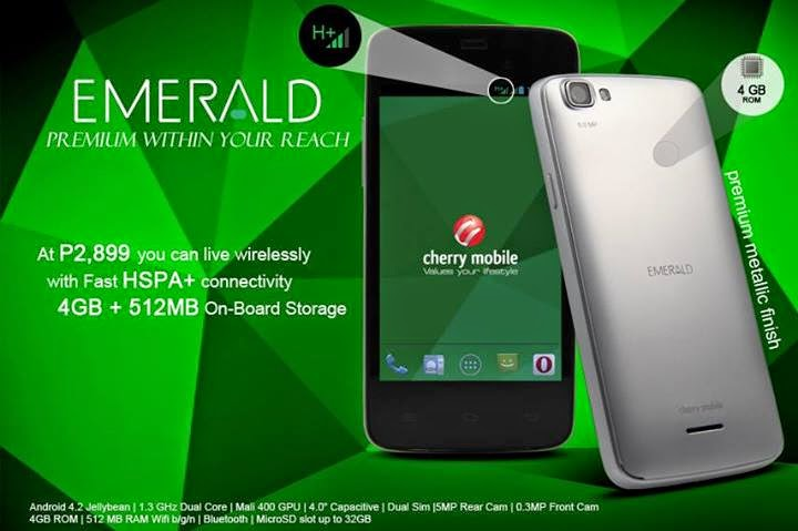 Cherry Mobile Emerald