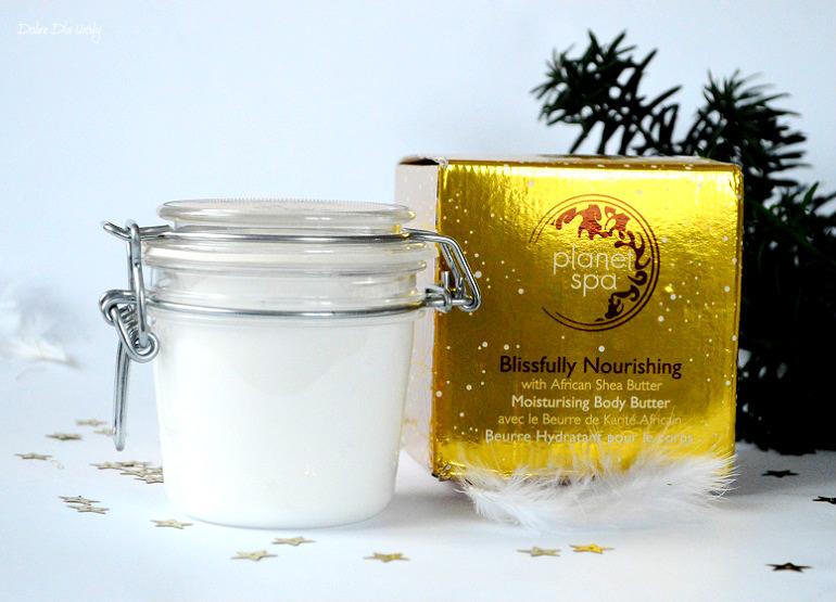 Avon Planet Spa Blissfully Nourishing Body Butter - Odżywcze masło do ciała z masłem Shea