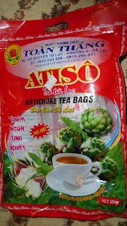 упаковка с артишоковым чае