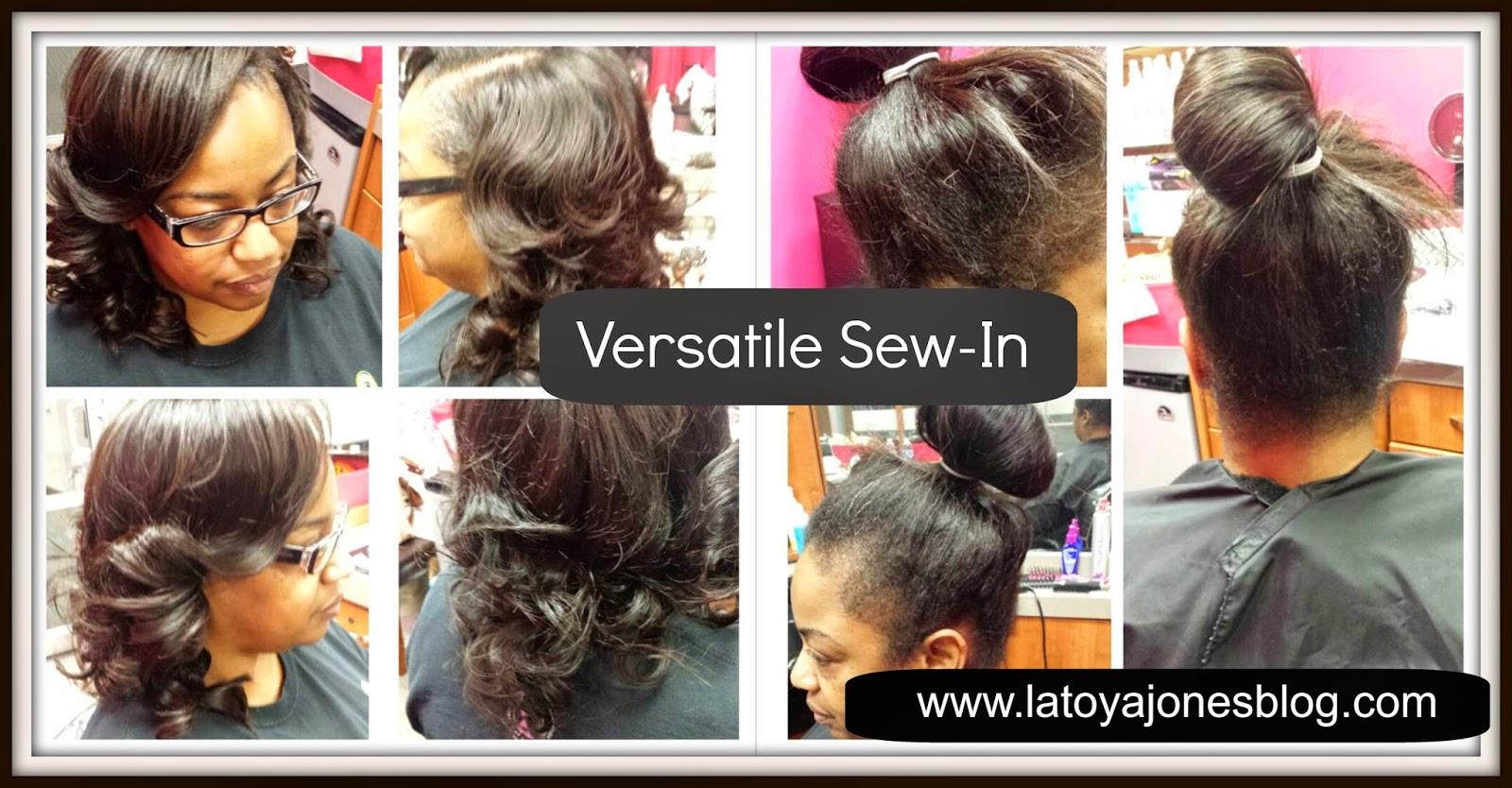 Astounding Sew In That You Can Pull Up In A Ponytail Versatile Latoya Jones Short Hairstyles For Black Women Fulllsitofus