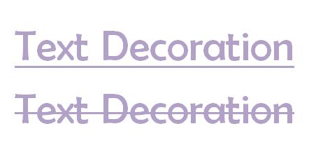 CSS Text Decoration (Dekorasi Garis Teks)