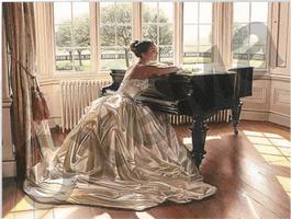 Невеста у рояля
