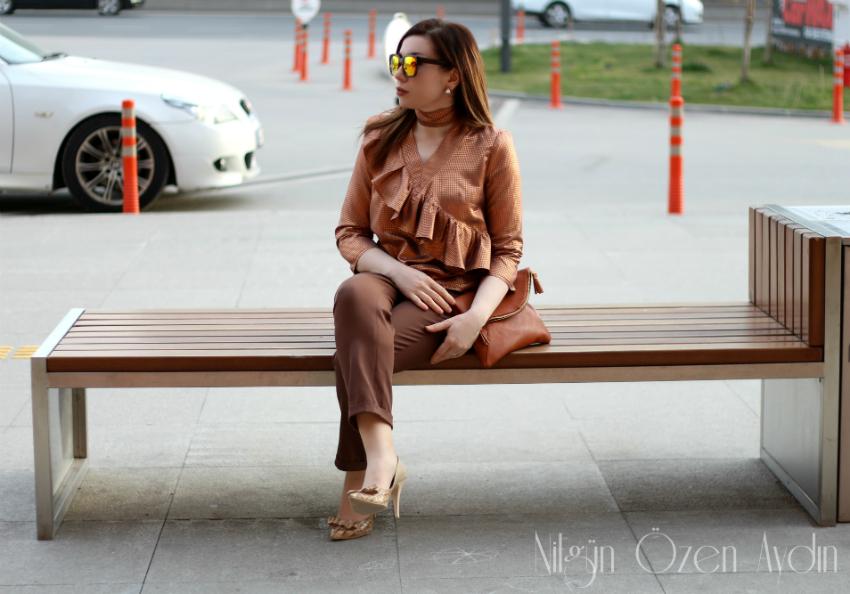 dikiş blogları-bluzler-choker yaka fırfırlı bluz-blogger-temel bluz kalıbı