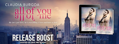 All of Me All of You by Claudia Burgoa Release Boost