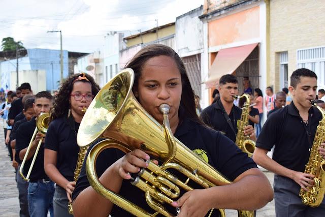 Encontro de bandas filarmônicas em Maruim
