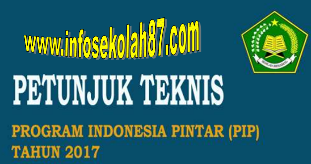 Download Juknis Program Indonesia Pintar (PIP) 2017