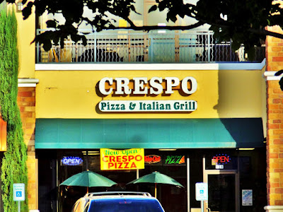 Crespo Pizza & Italian Grill - Pic of storefront on Eldridge with signage