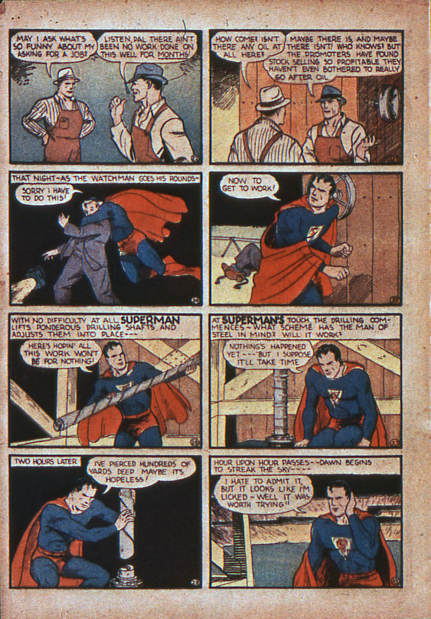 Action Comics (1938) 11 Page 6
