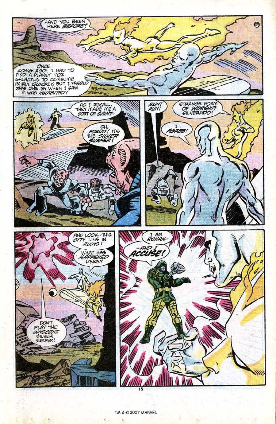 Read online Silver Surfer (1987) comic -  Issue #13 - 17