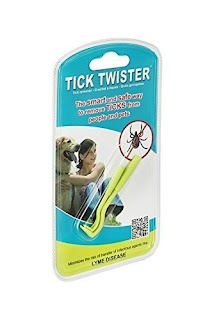 Tick twister tool for removing ticks from Amazon.