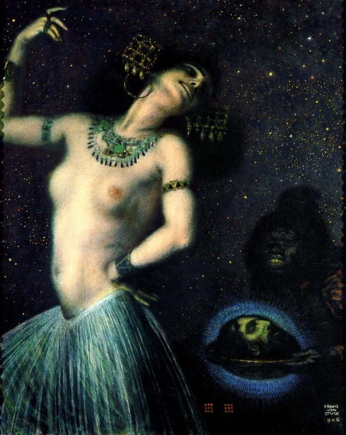 Франц фон Штук «Саломея»
