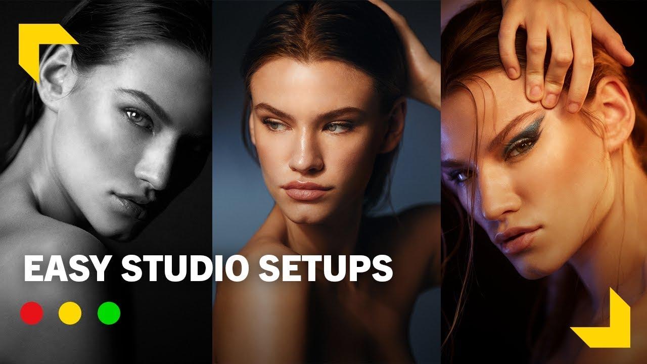Studio Lighting: 3 Cinematic Looks How to Level Up your Work