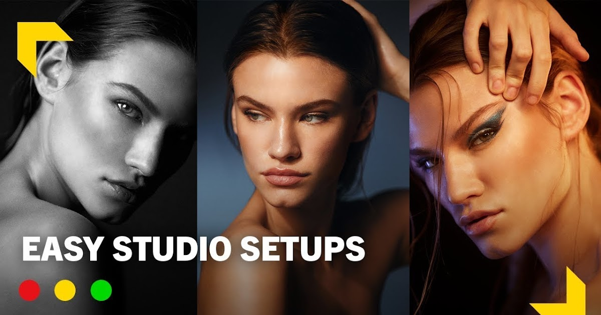 Studio Lighting: 3 Cinematic Looks & How to Level Up your Work