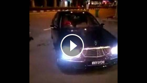 Video sekitar kejadian Amin Beyond ditembak mati
