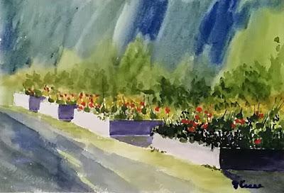 Watercolor Plein Air - JKeese