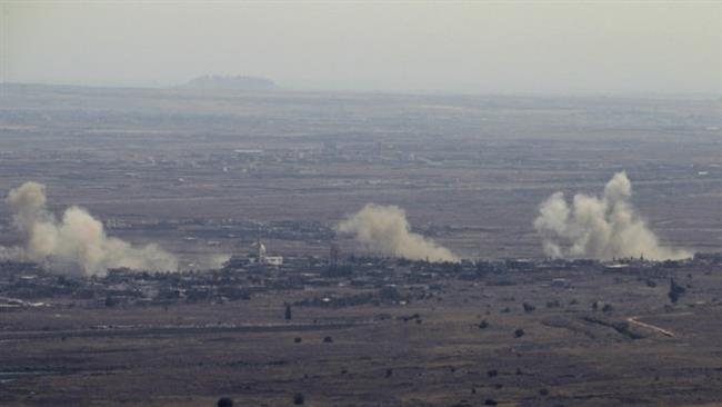 Israel strikes Syrian tanks, post in occupied Golan Heights