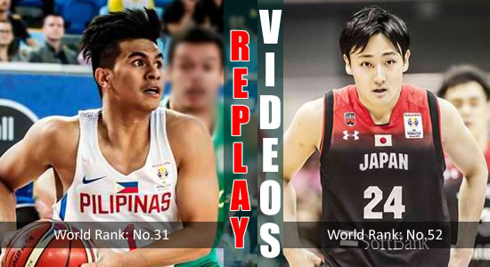 Video List: Gilas Pilipinas vs Japan game replay February 25, 2018 FIBA World Cup Qualifiers