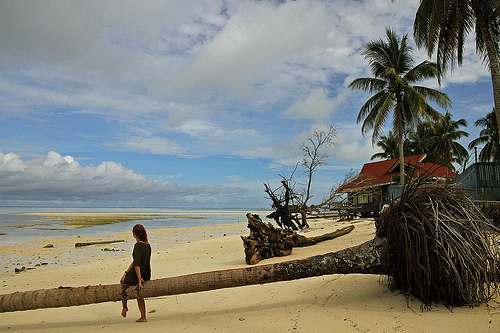 Derawan islands is located