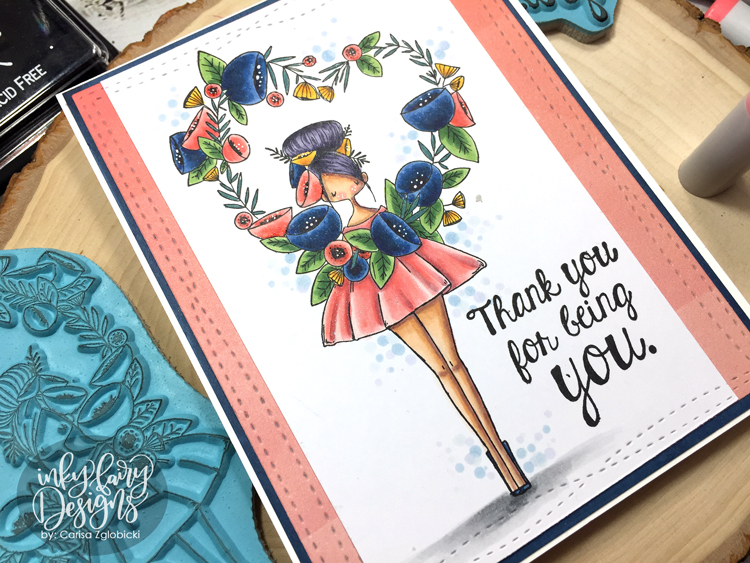 Inky Fairy Designs: Copic Coloring with Stamping Bella Stamps!