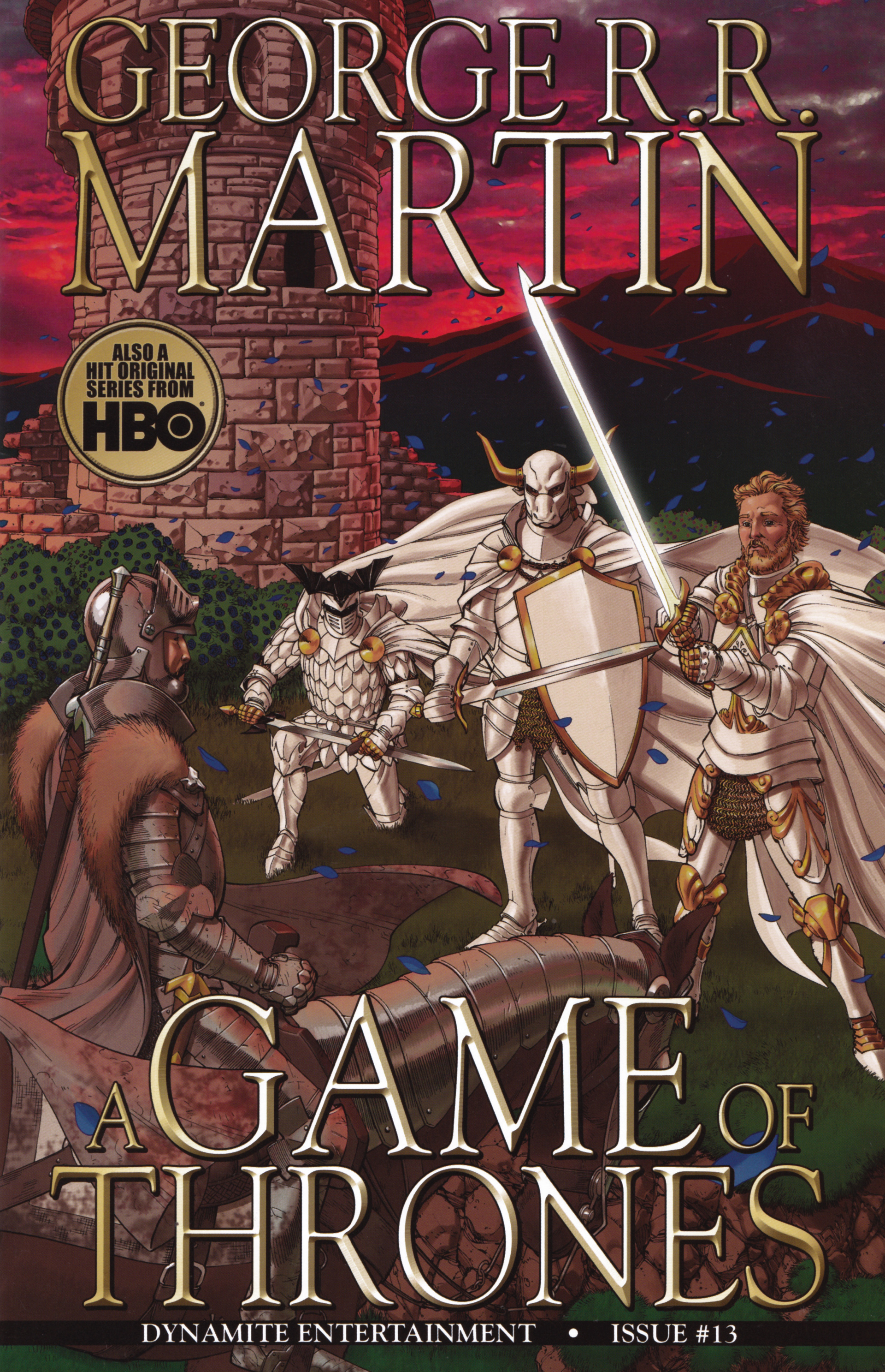 Read online A Game Of Thrones comic -  Issue #13 - 1