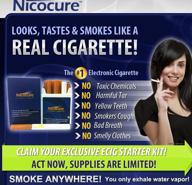 Nicocure eCigs