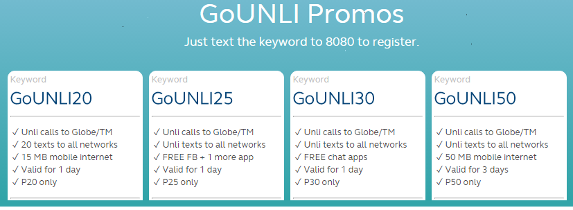 Globe updates 2017 extend the validity of your go surf for Globe tattoo internet load