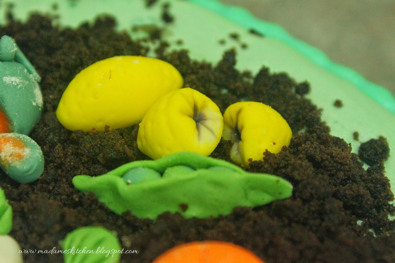 Madame's Kitchen: Vegetable Garden Cake